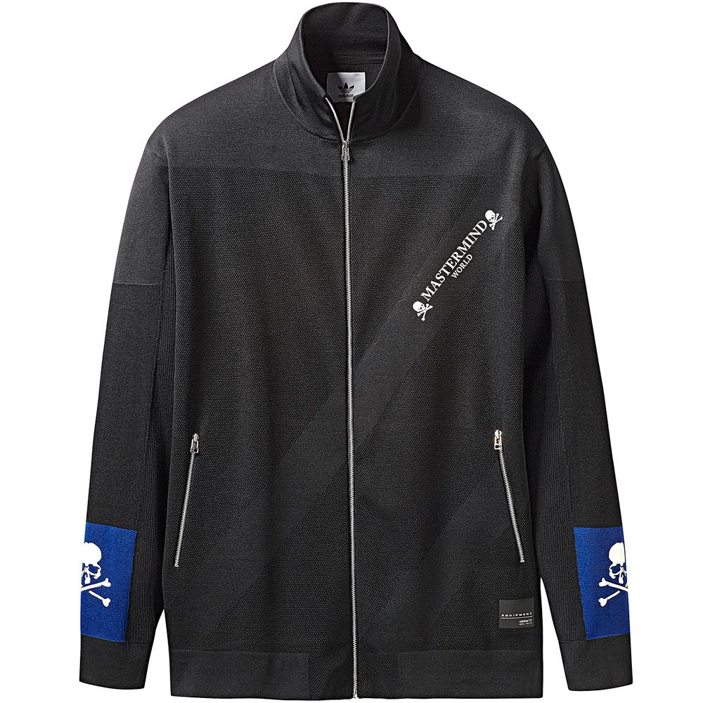 style code CG0752. ADIDAS ORIGINALS BY MASTERMIND WORLD TRACK TOP / BLACK