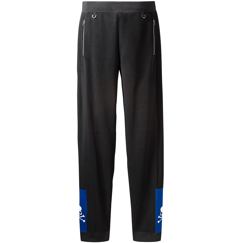 style code CG0755. ADIDAS ORIGINALS BY MASTERMIND WORLD TRACK PANTS / BLACK