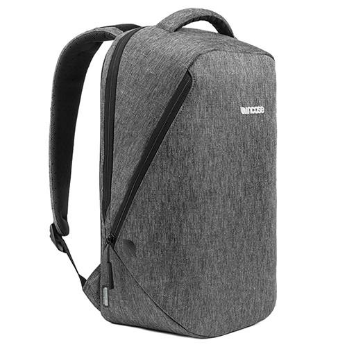 INCASE REFORM TESAERLITE BACKPACK 15 / HEATHER BLACK . style code CL55574.