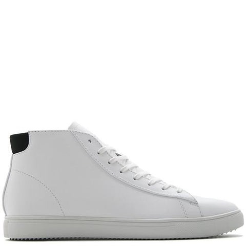CLAE BRADLEY MID / WHITE LEATHER - 1