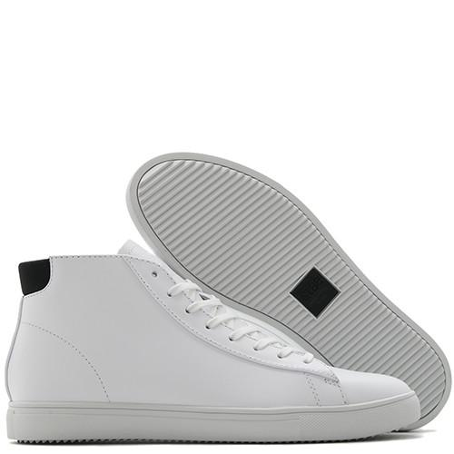 CLAE BRADLEY MID / WHITE LEATHER - 2