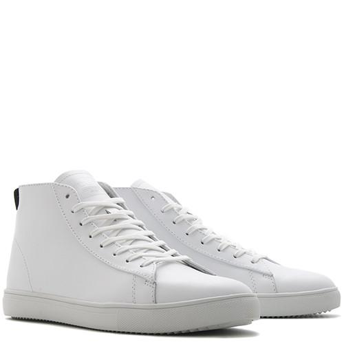 CLAE BRADLEY MID / WHITE LEATHER - 3