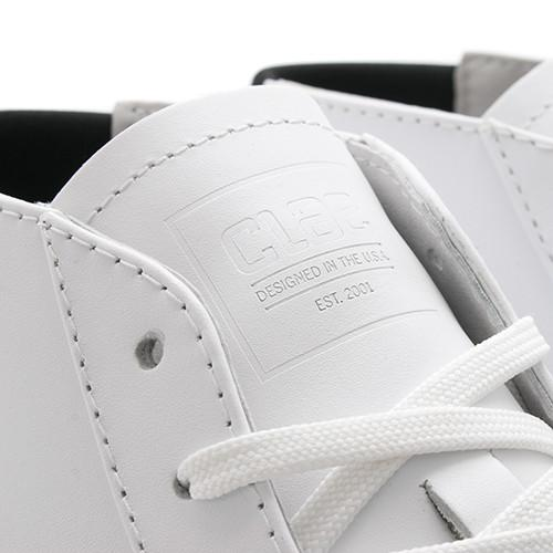 CLAE BRADLEY MID / WHITE LEATHER - 4