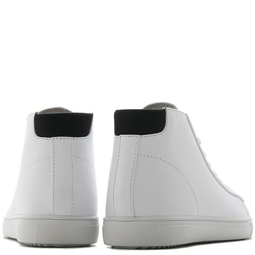 CLAE BRADLEY MID / WHITE LEATHER - 5