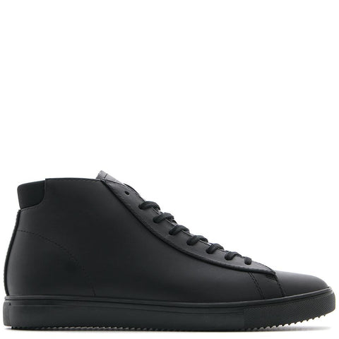 CLAE BRADLEY MID / BLACK LEATHER - 1