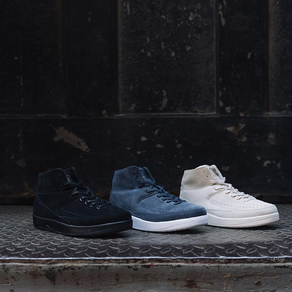JORDAN 2 RETRO DECON / BLACK