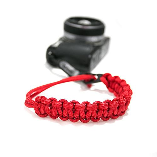 DSPTCH CAMERA WRIST STRAP MATTE BLACK / RED. style code DSPHO1312