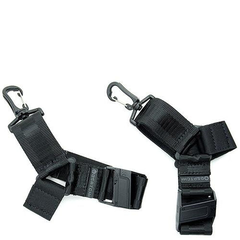 DSPTCH SHOE STRAP SET / BLACK - 1