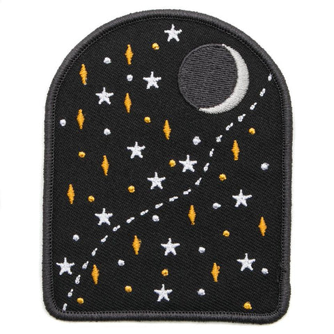 EXPLORER'S PRESS MOON AND STAR PATCH
