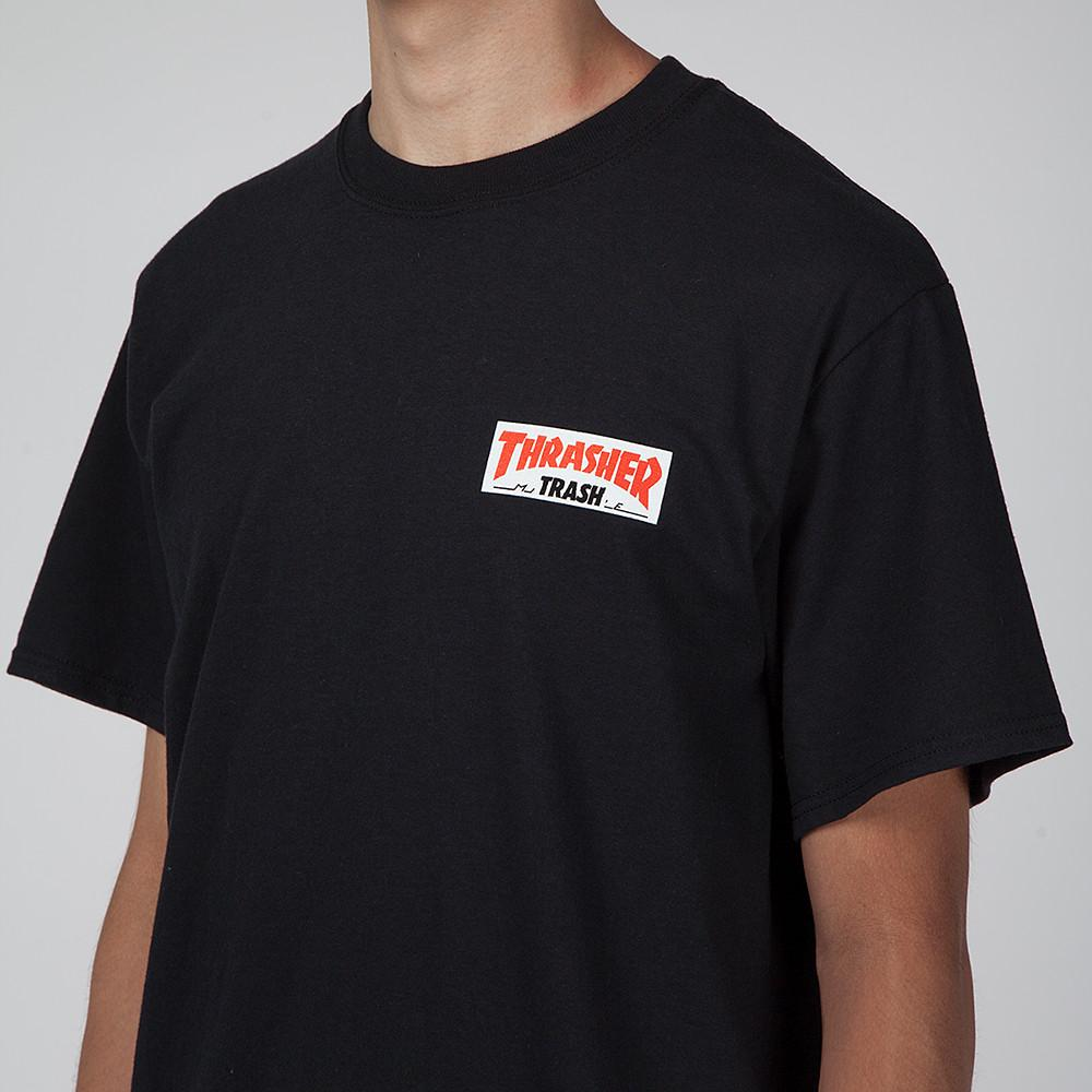 FUCKING AWESOME X THRASHER TRASH ME T-SHIRT / BLACK