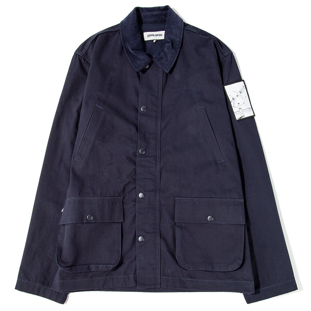 FAJK001SP19D1NVY Fucking Awesome Techniques Field Jacket / Navy
