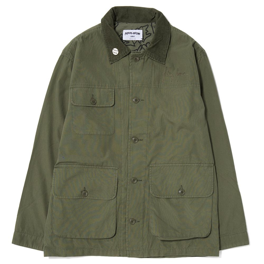 style code FASP16110ARM. FUCKING AWESOME FIELD JACKET / ARMY