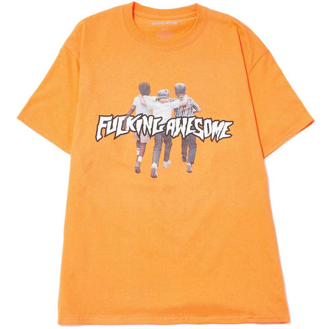 FUCKING AWESOME FRIENDS T-SHIRT / PEACH
