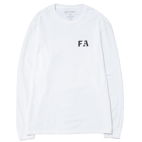 FUCKING AWESOME CHILDREN OF A LESSER GOD LONG SLEEVE T-SHIRT / WHITE