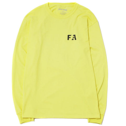 FUCKING AWESOME CHILDREN OF A LESSER GOD LONG SLEEVE T-SHIRT / YELLOW