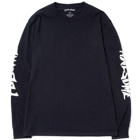 FUCKING AWESOME KB COLLAGE LONG SLEEVE T-SHIRT / BLACK