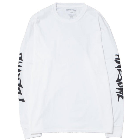 FUCKING AWESOME KB COLLAGE LONG SLEEVE T-SHIRT / WHITE