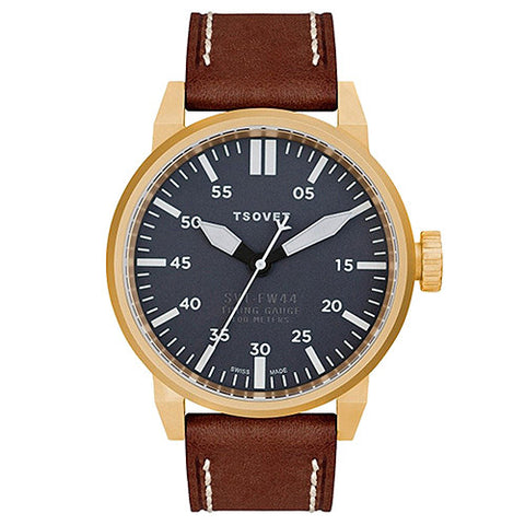 TSOVET SVT-FW44 SWISS MADE GOLD / GREY