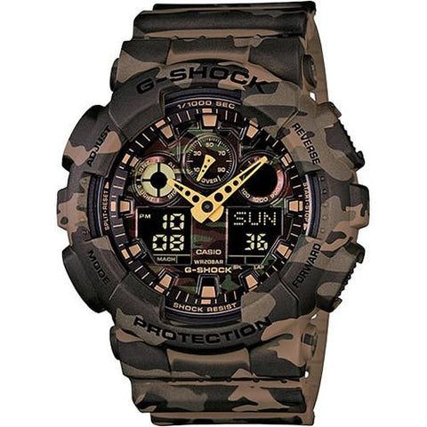 G-SHOCK GA100CM-5A / BROWN CAMO