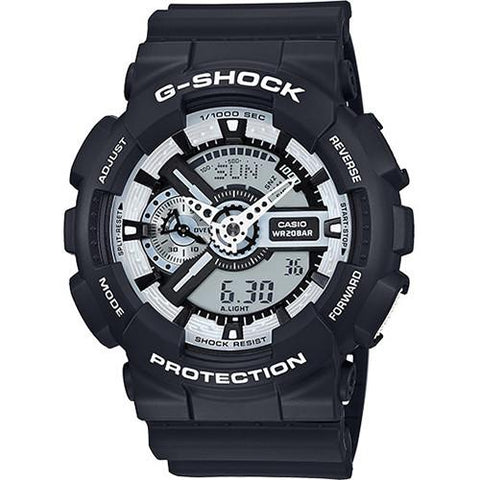 G-SHOCK GA110BW-1A / BLACK
