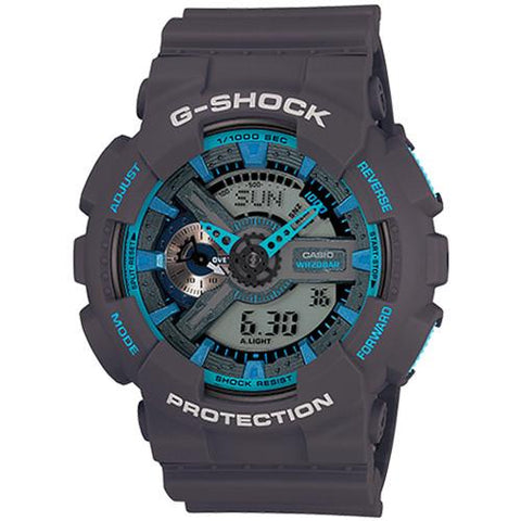 G-SHOCK GA110TS-8A2 NEON COLOR THEME / BLUE