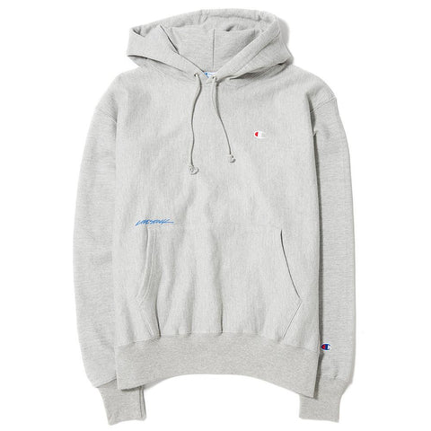 CHAMPION LIVESTOCK REVERSE WEAVE PULLOVER HOOD / OXFORD GREY