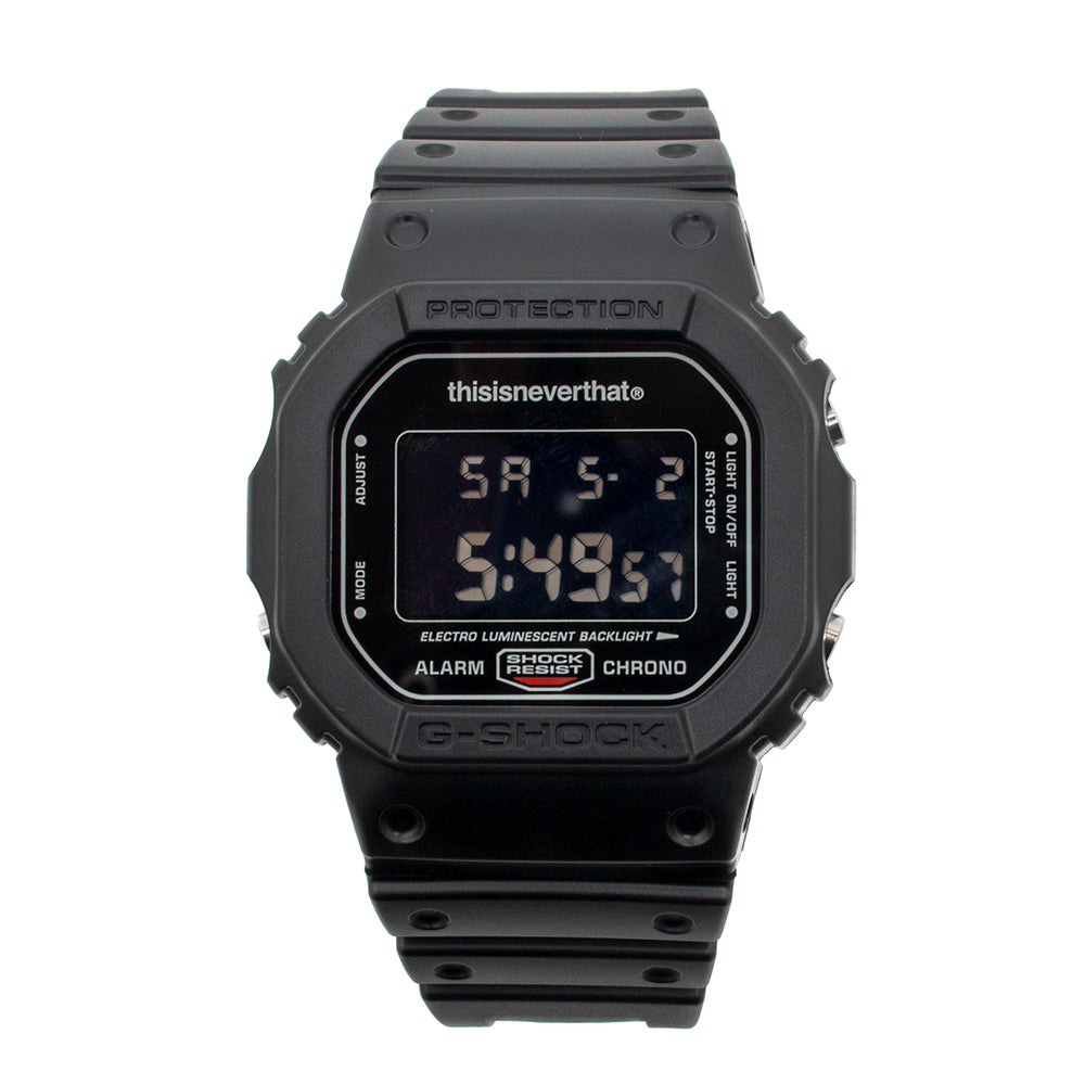 G-SHOCK x thisisneverthat DW-5600TNT-1DR / Black
