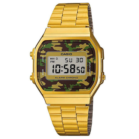 CASIO VINTAGE WATCH GOLD CAMO / GOLD