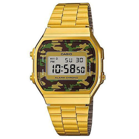 CASIO VINTAGE WATCH GOLD / CAMO