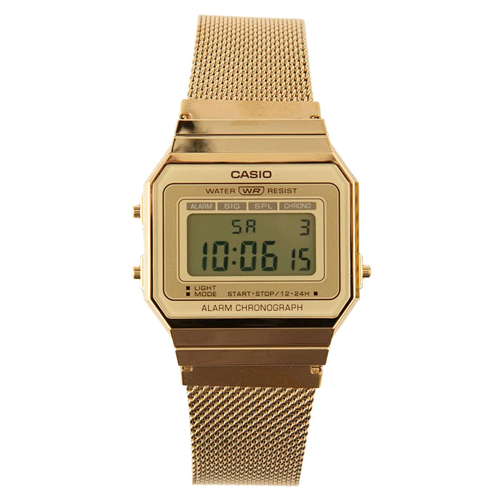 Casio Vintage Watch (A700WMG-9AVT) / Gold