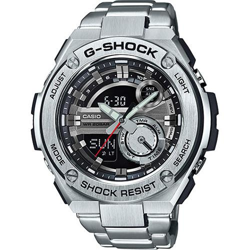 G-SHOCK GST210D-1A MASTER OF G / SILVER