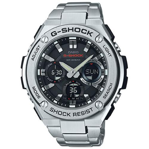 G-SHOCK G-STEEL GSTS110D-1A / SILVER. style code GS-GSTS110D-1A