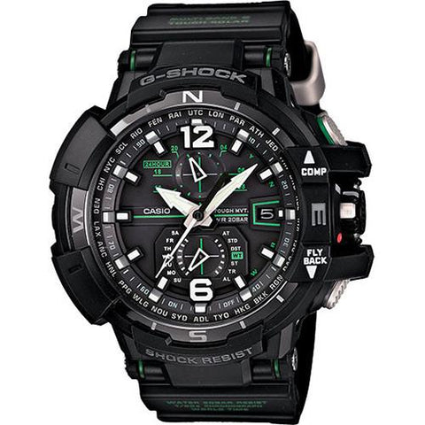 G-SHOCK GWA1100-1A3 AVIATION SERIES / BLACK