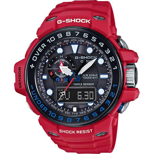 G-SHOCK GWN1000RD-4A MASTER OF G / RED. style code GS-GWN1000RD-4A