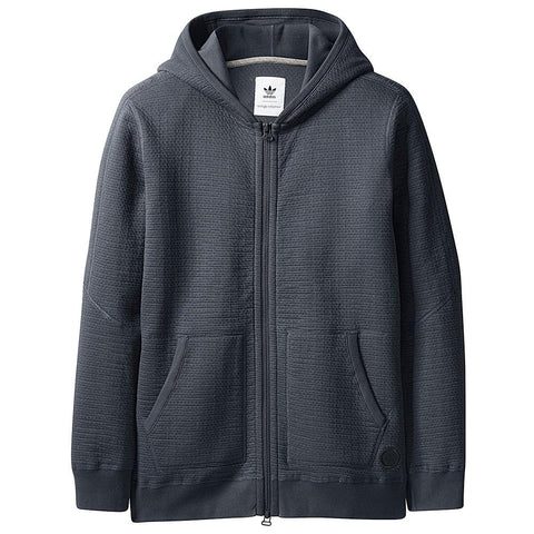 ADIDAS CONSORTIUM X WINGS + HORNS CABIN FLEECE HOODY / NIGHT GREY