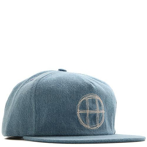 HUF DENIM CIRCLE H SNAPBACK / DENIM - 1