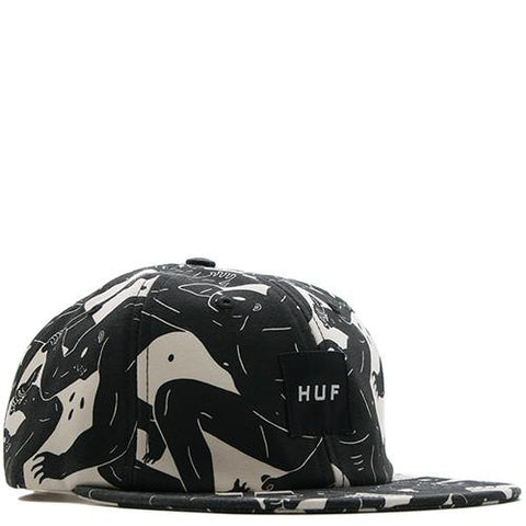 HUF WHITE LABEL X CLEON PETERSON 6 PANEL / OFF WHITE - 1
