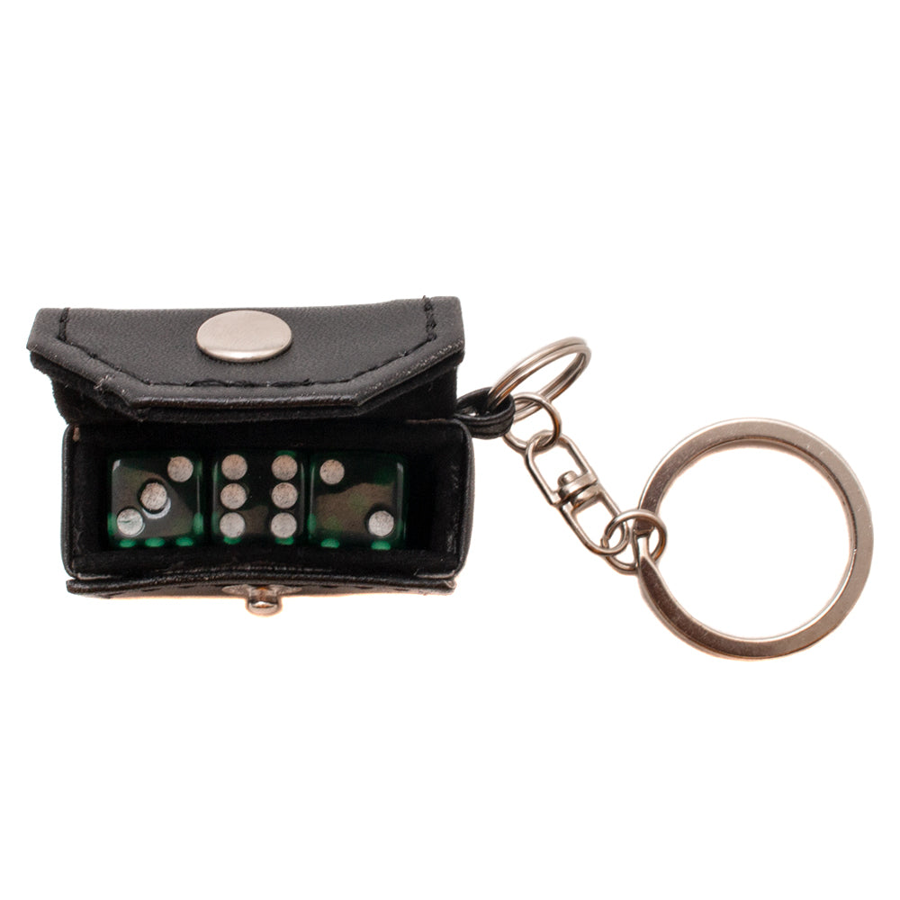 HUFAC00177SP19D1BLK Huf Cee-Lo Dice Keychain / Black