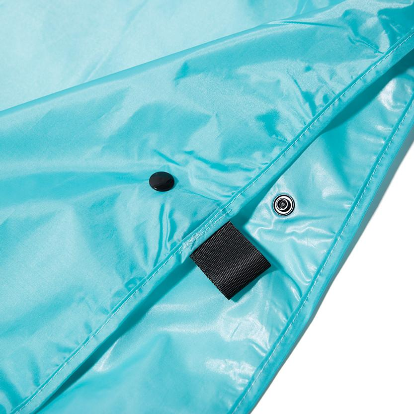 HUF X THRASHER PACKABLE RAIN PONCHO / MINT - 4