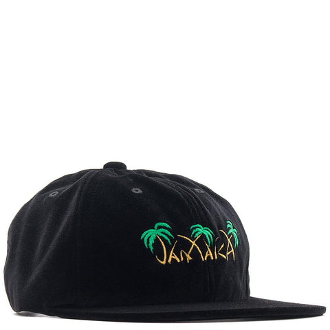 HUF JAMAICA 6 PANEL / BLACK