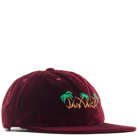 HUF JAMAICA 6 PANEL / BURGUNDY