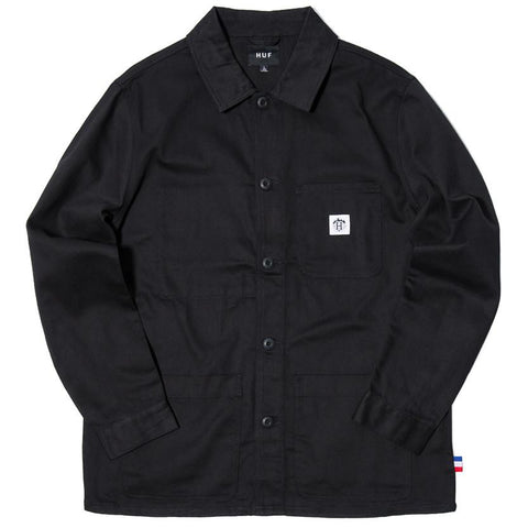 HUF X THRASHER TDS CHORE JACKET / BLACK - 1