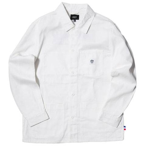 HUF X THRASHER TDS CHORE JACKET / OFF WHITE - 1