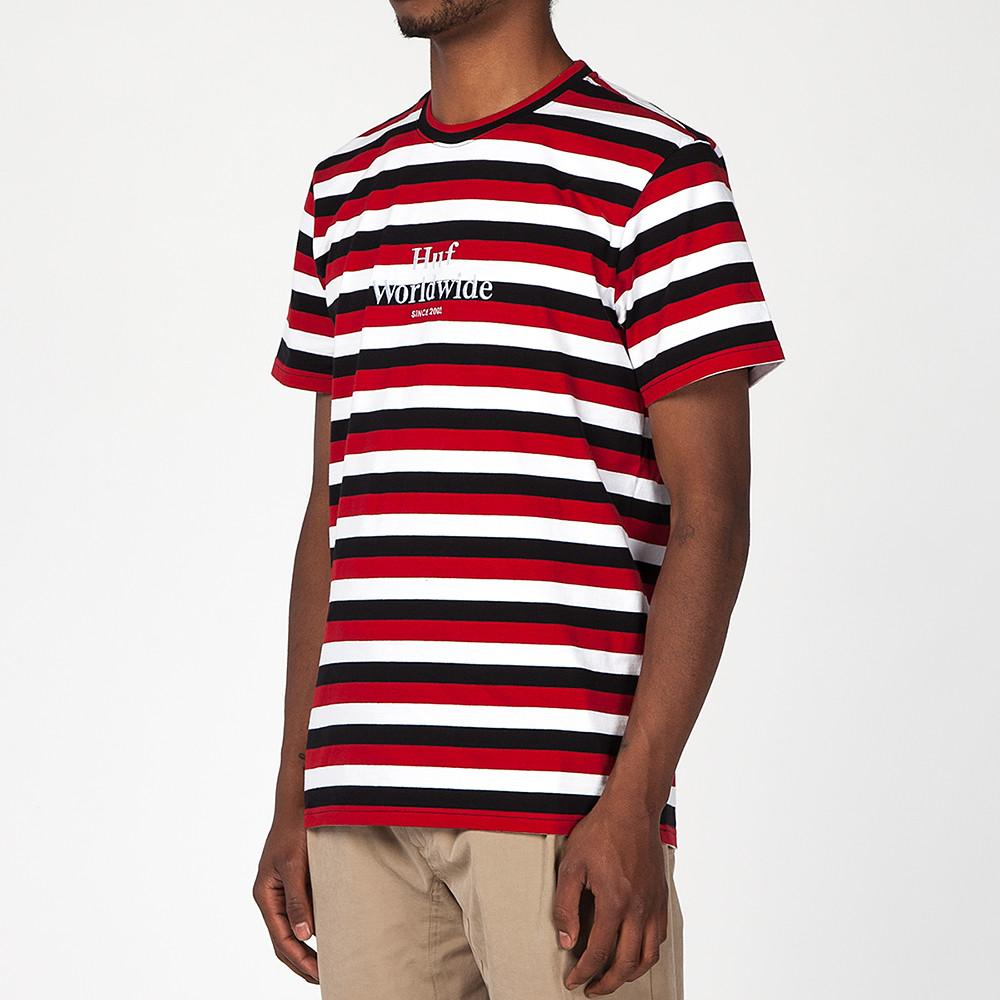 HUF HAMPTONS SHIRT / RED