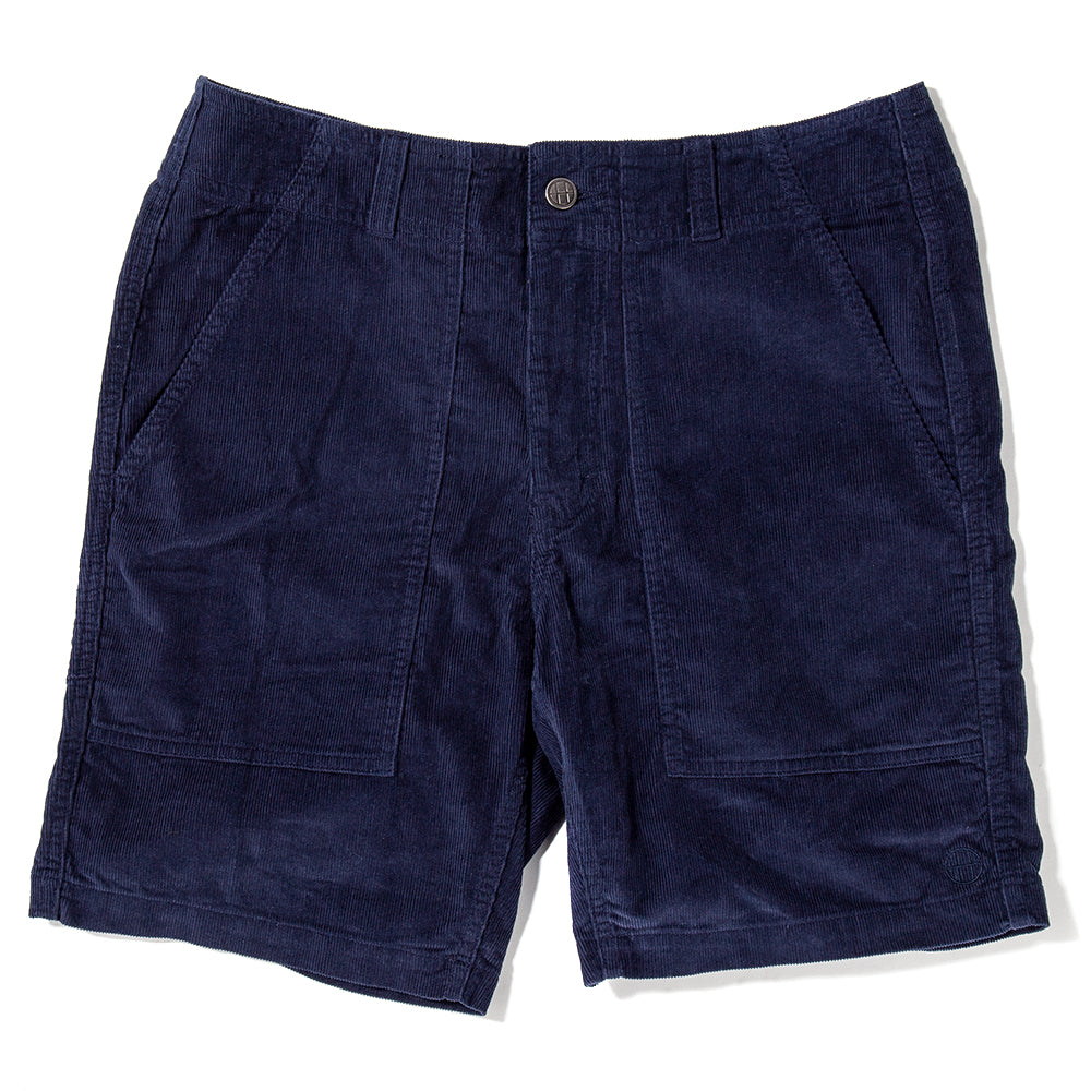 HUFPT00008SU17OBS Huf Corduroy Short Obsidian