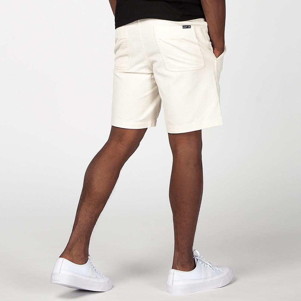 HUF CORDUROY SHORT / OFF WHITE
