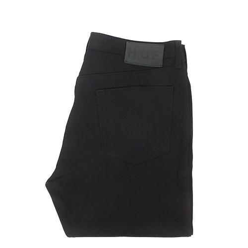 HUF DENIM CLASSIC 5 POCKET / BLACK - 3