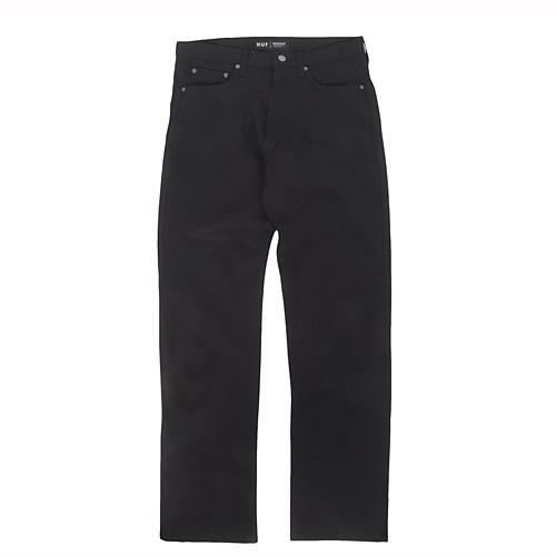 HUF DENIM CLASSIC 5 POCKET / BLACK - 1