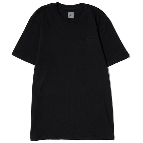 HUF OVERDYED TRIANGLE T-SHIRT / BLACK