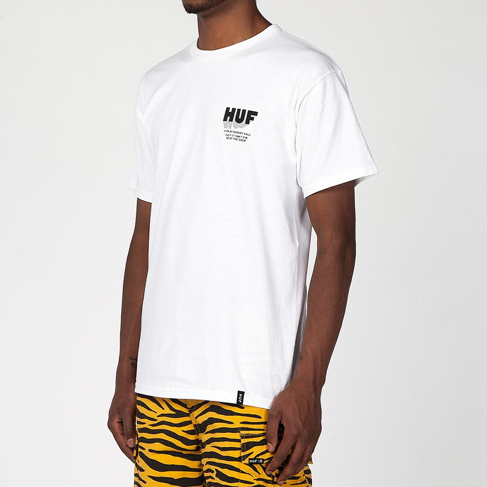 HUF DISASTER SOUND T-SHIRT / WHITE
